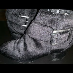 MIA - Audrina Black Booties
